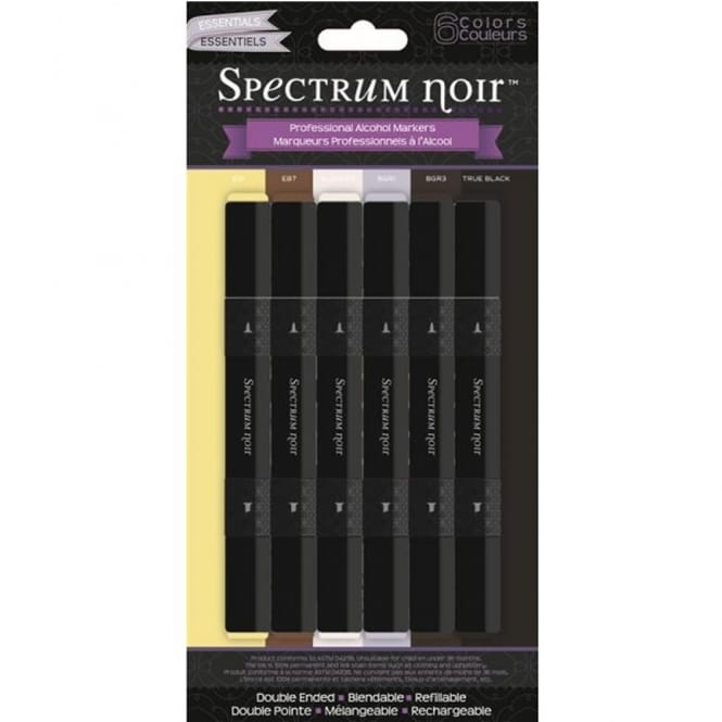 Spectrum Noir 6 Pen Set - Essentials