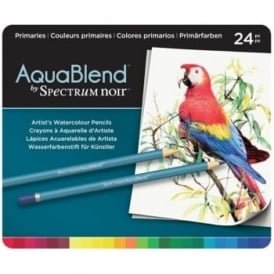 Spectrum Noir Aqua Blend 24 Pencils - Primaries