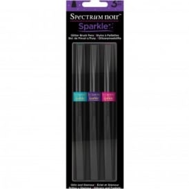 Spectrum Noir Sparkle Brush Pens - Glitz & Glamour 3 Pack