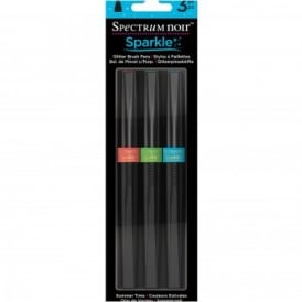 Spectrum Noir Sparkle Brush Pens - Summer Time 3 Pack