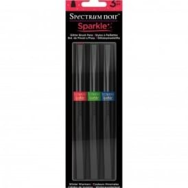 Spectrum Noir Sparkle Brush Pens - Winter Warmer Pen Set