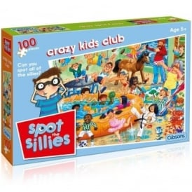 Spot The Sillies Kids Club 100 Piece Puzzle