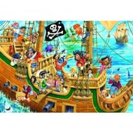 Spot The Sillies Pesky Pirates 100 Piece Puzzle