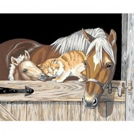 Stable Pals Paint by Numbers