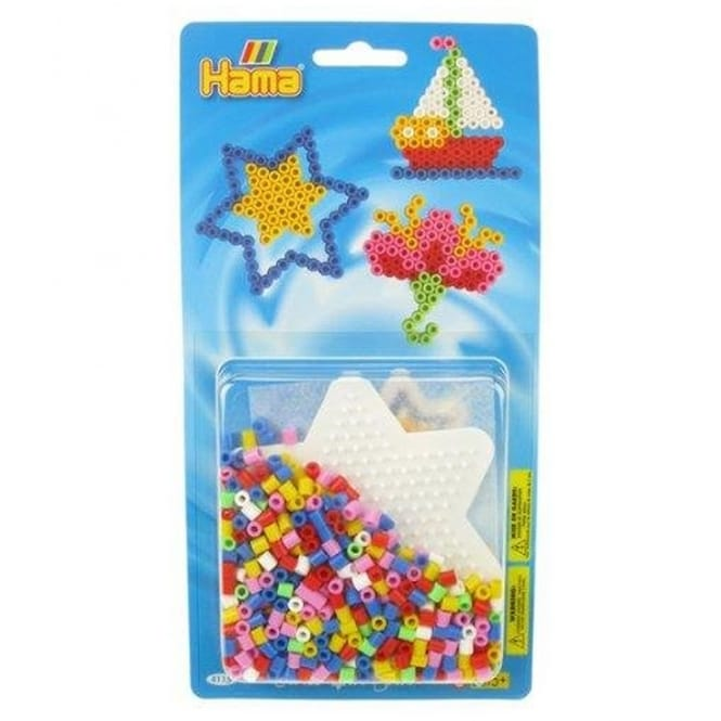 Star Bead Pack - Blue