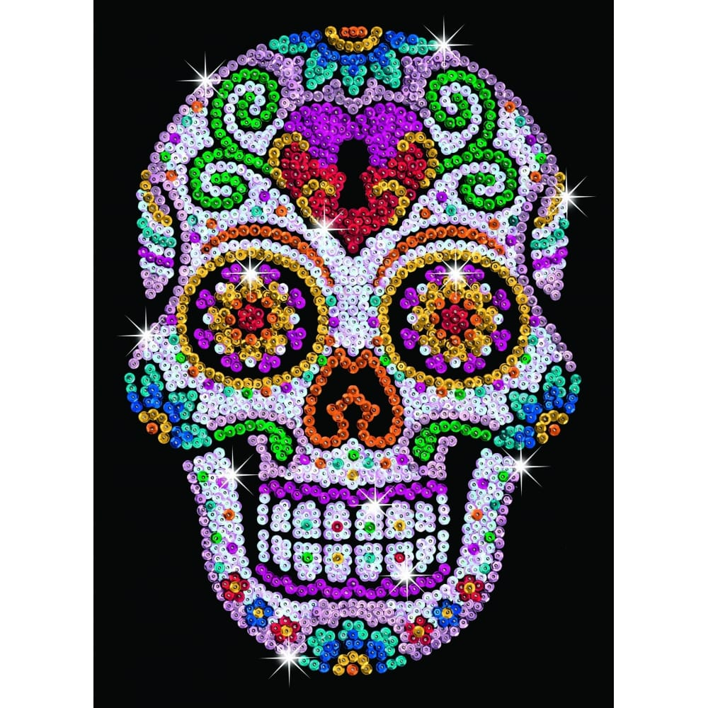 sugar skull sequin art craftyarts co uk