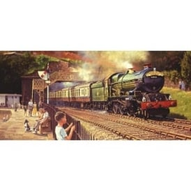 Sunshine and Steam Jigsaw Puzzle 636 Pieces