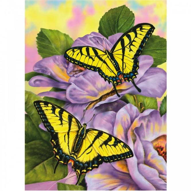 Swallowtail Butterflies Junior Paint By Numbers