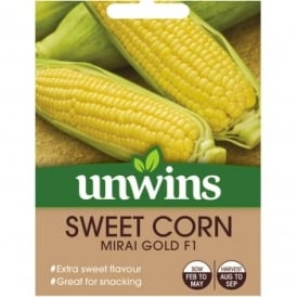 Sweet Corn Seeds - Mirai Gold