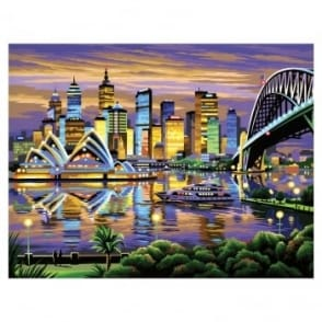 Sydney Large Painting By Numbers