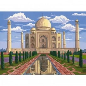 Taj Mahal Large Paint by Numbers