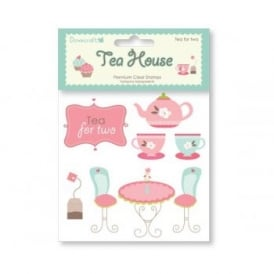Tea House Clear Stamps - Tea For Two*