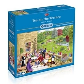 Tea on the Terrace Jigsaw Puzzle 500 Pieces