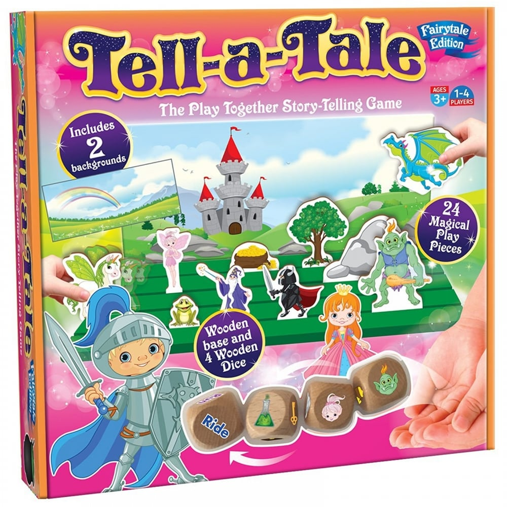 Tell-a-Tale Fairytale Story Telling Game - Cheatwell Games from ...