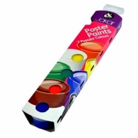 Tempera Poster Paints 7 Colours: 20ml