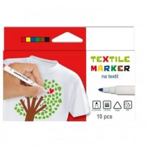 Textile Markers 10 Pack
