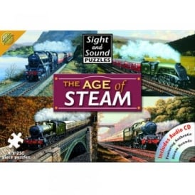 The Age of Steam - 4 x 250 Piece Puzzle
