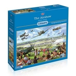 The Airshow Jigsaw Puzzle 1000 Pieces