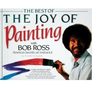 The Best of The Joy of Painting Soft Cover Book
