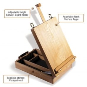 The Cambridge Table Box Easel