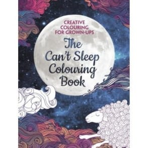 The Can't Sleep Colouring Book: Creative Colouring Book for Grown-ups