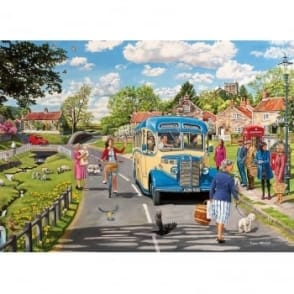 The Country Bus 4 x 500 Piece Puzzles