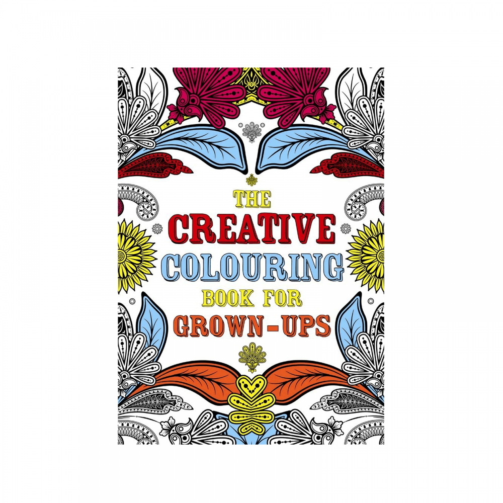 Coloring Books For Grown Ups: The Creative Colouring Book For Grown-ups