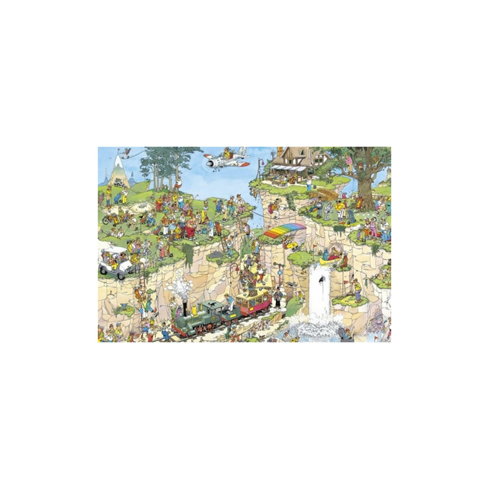 the golf course 1500 piece puzzle jumbo from. Black Bedroom Furniture Sets. Home Design Ideas