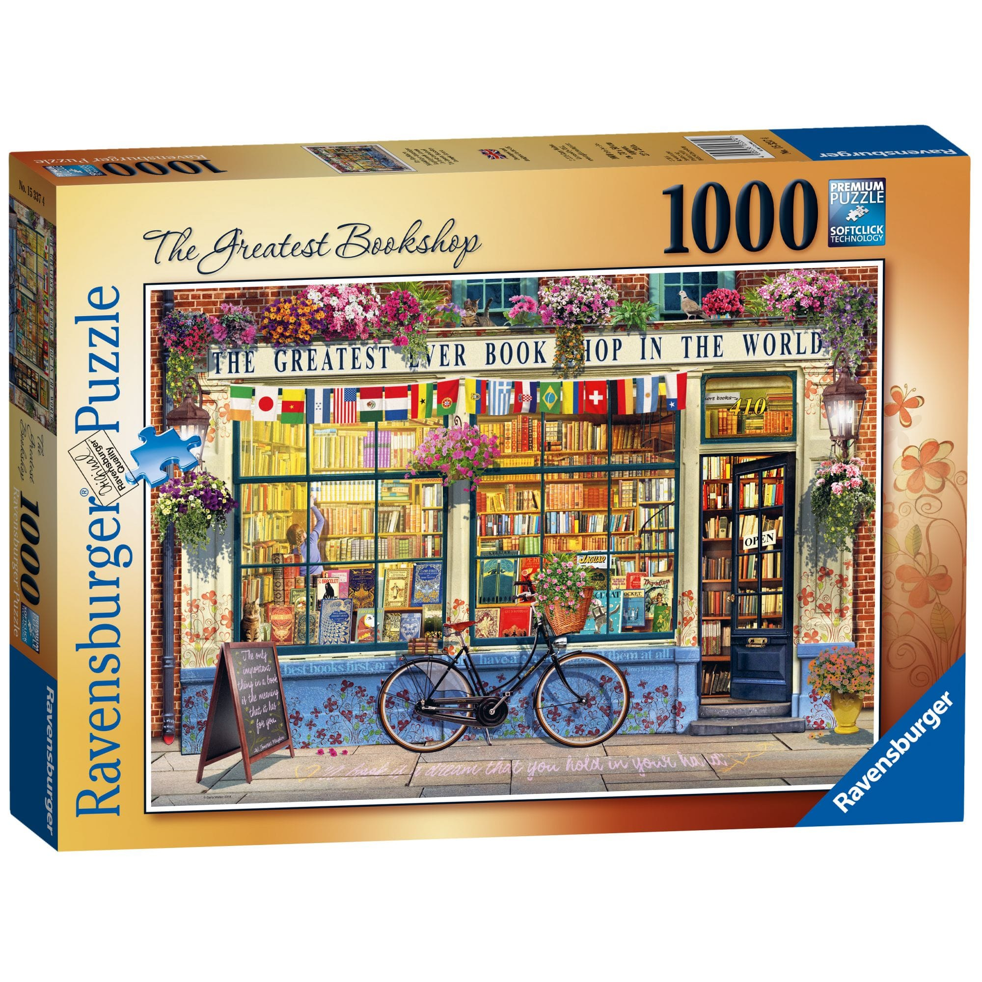 ravensburger doors of the world puzzle 1000 piece