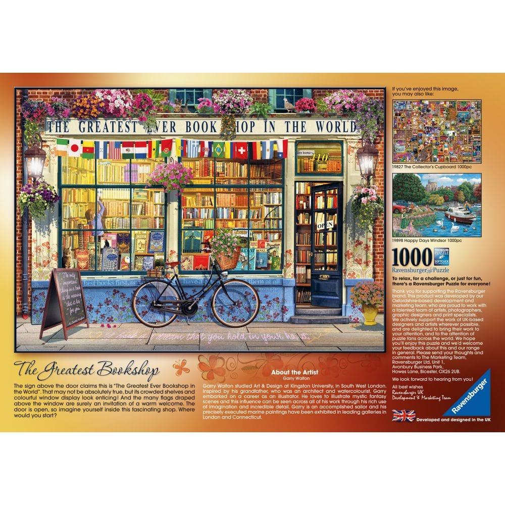 The Greatest Bookshop 1000 Piece Puzzle