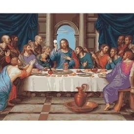 The Last Supper Paint by Numbers
