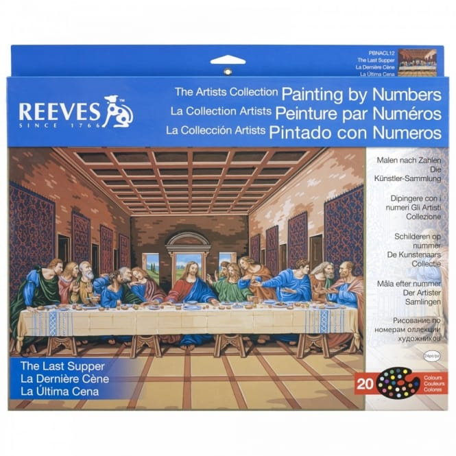 The Last Supper The Artists Collection Painting by Numbers