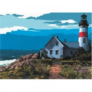 The Lighthouse Painting By Numbers