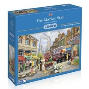 The Market Stall - 1000 Piece Puzzle