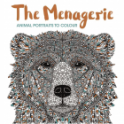The Menagerie -  Animal Portraits to Colour