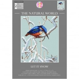 The Natural World Cross Stitch Kit - Let It Snow