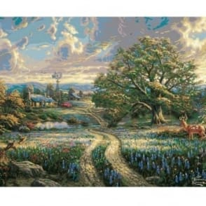 Thomas Kinkade Country Living Paint by Numbers
