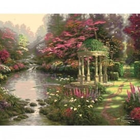 Thomas Kinkade Garden of Prayer Paint By Numbers