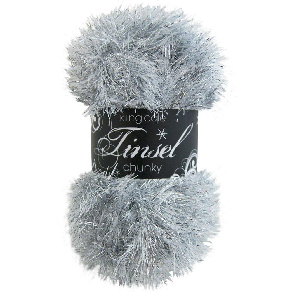 Chunky Knitting Wool Uk : Tinsel chunky knit yarn king cole from craftyarts uk