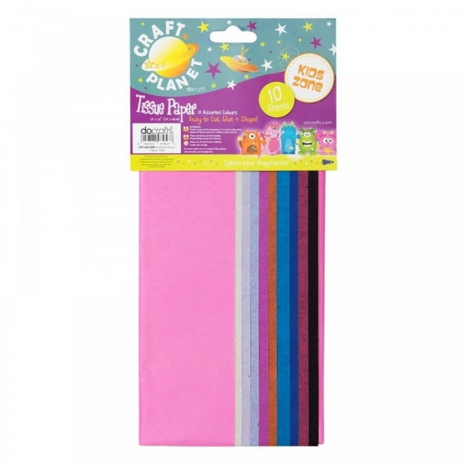 Tissue Paper (10 Assorted Colours)