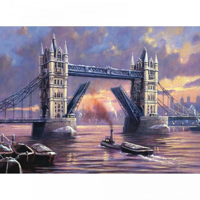 Tower Bridge - Large Paint By Numbers