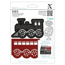 Train & Carriage Die Set