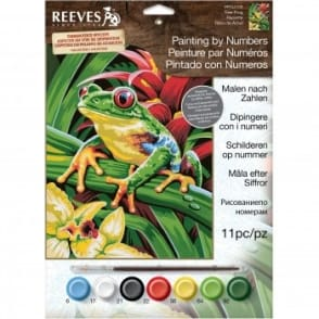 Tree Frog Junior Paint by Numbers