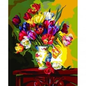 Tulips on Parade Paint by Numbers