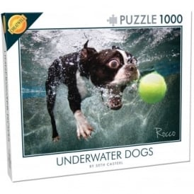 Under Water Dogs Rocco 1000 Piece Puzzle