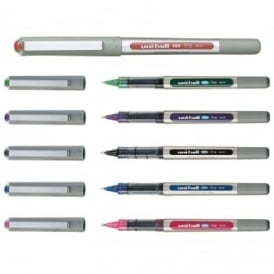 Uni Ball Eye Liquid Ink Rollerball Multi Pack 6 Pens
