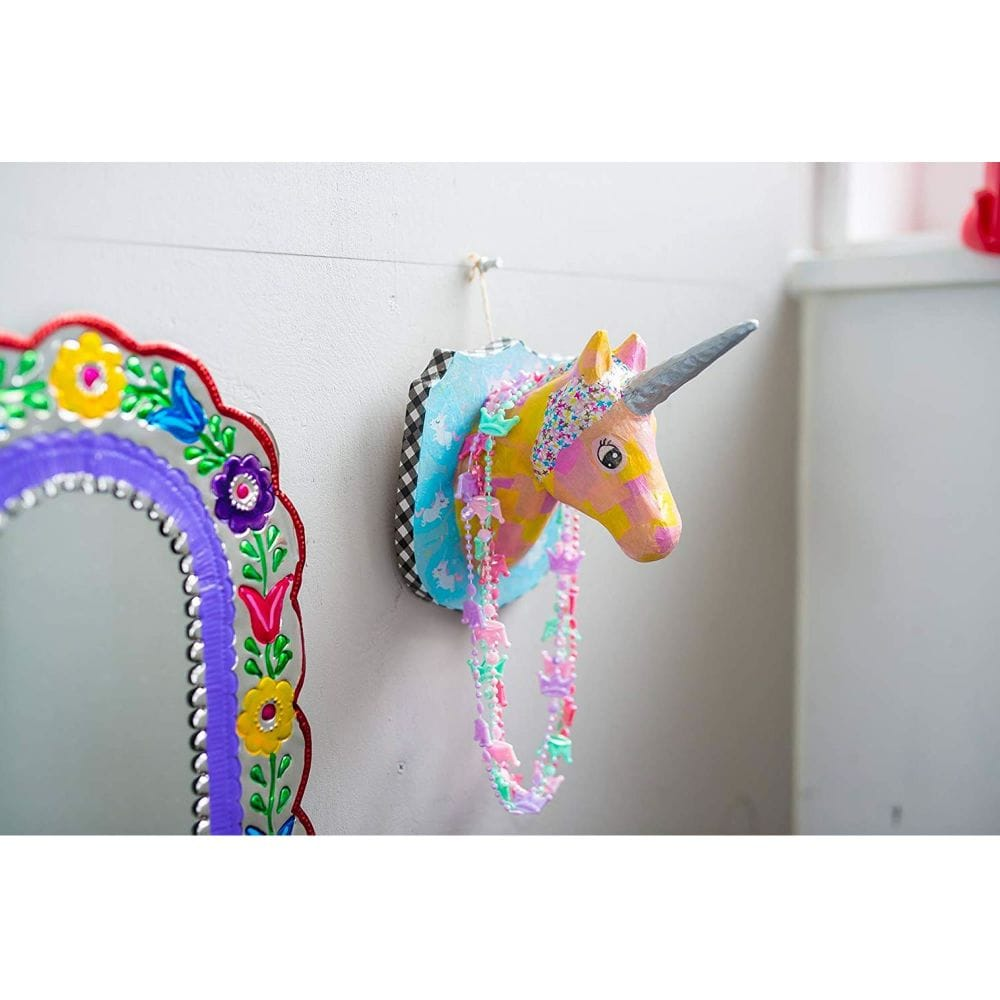 Kids Build - Super Rainbowtastic Paper Mâché Unicorn : 7 Steps ... | 1000x1000