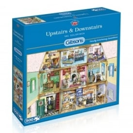 Upstairs & Downstairs 500 Piece Puzzle