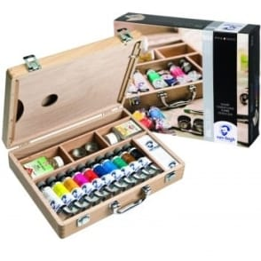 Van Gogh Wooden Box Oil Paint Set