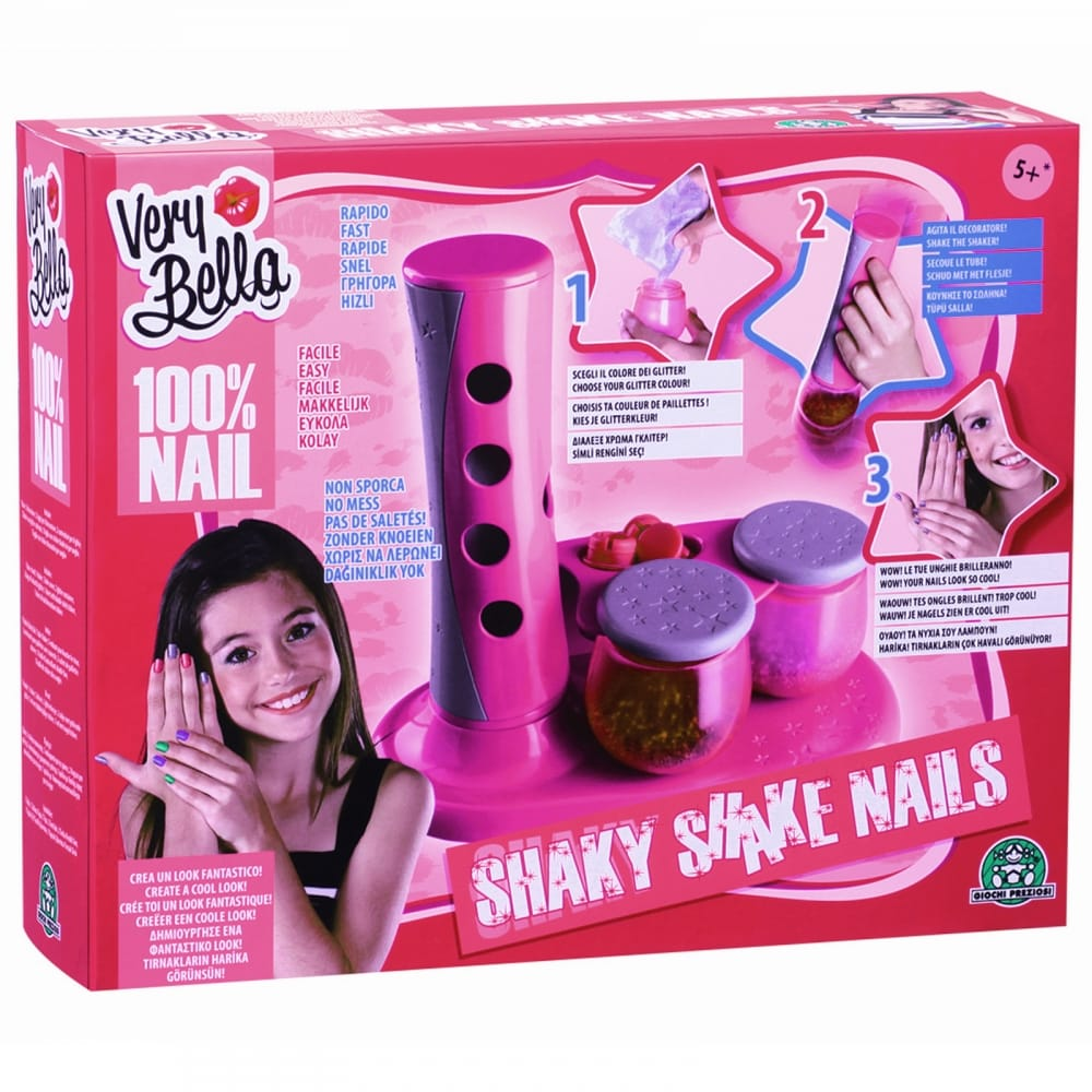 Very Bella Shaky Shake Nails Kit - CraftyArts.co.uk